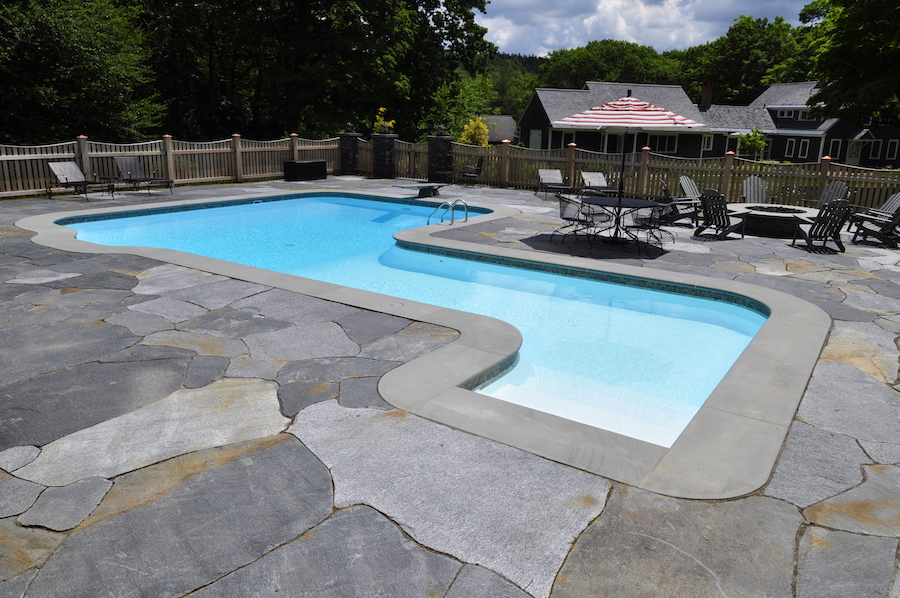 Goshen Stone With Bluestone Pool