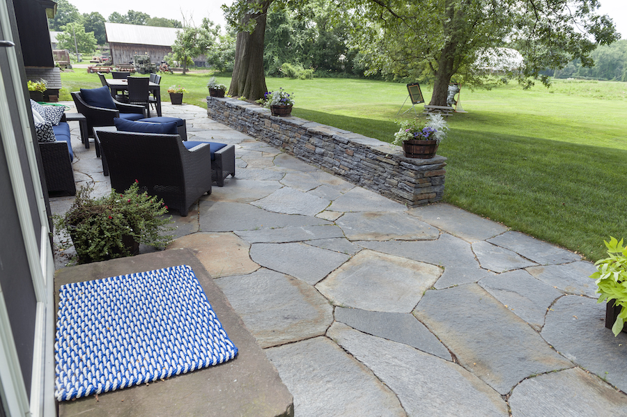 Goshen Stone Patio, Stonemasons, Deerfield Massachusetts