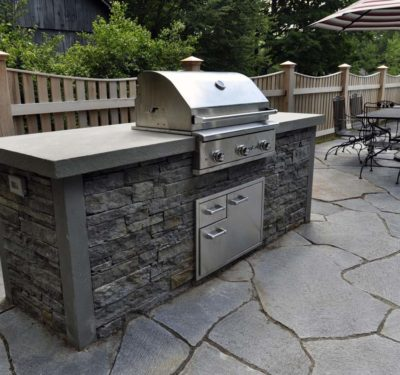 Ashfield Stone Outdoor Kitchen