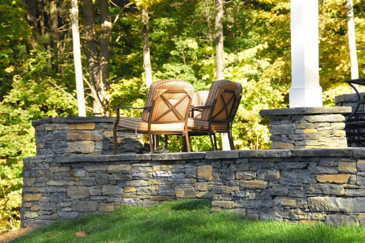 Goshen Stone Patio And Fire Pit
